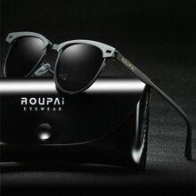 2019 Luxury Classic Sunglasses Mens Driving Transparent Polarized Lenses Retro Brand Oculos UV400
