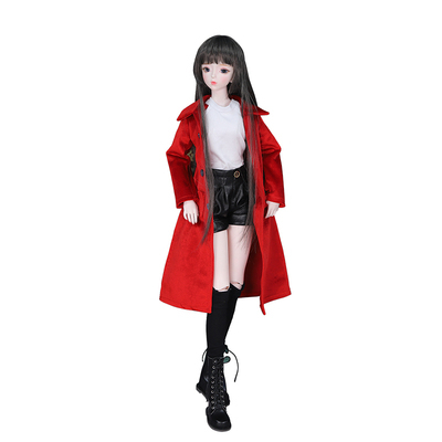 1/3 BJD Joint Body with Customized  makeup include outfit shoes hair and Gift box gift toys ICY,SD