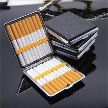20 стиков, модный двухслойный чехол для сигарет с креативной личностью, Металлический футляр для сигарет, Подарочный держатель для сигарет, ...