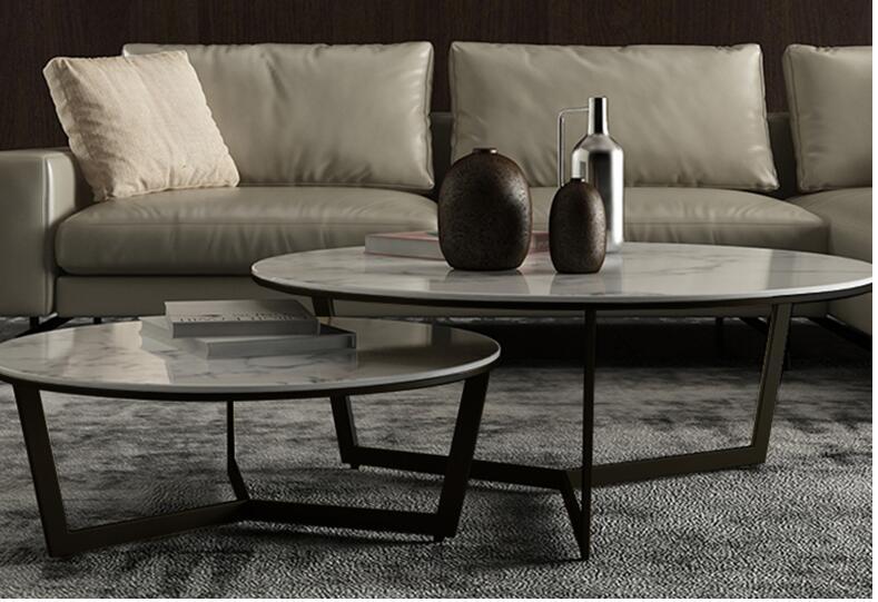 Скандинавский Мраморный Круглый Чайный Столик Современный Простой Круглый Чайный Столик сочетание простой и легкий роскошный мраморный чайный столик комбинация