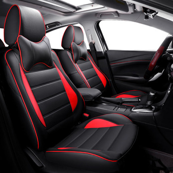 leather car seat cover For subaru forester 2009 2014 impreza 2008 legacy 2007 xv 2018 outback accessories seat covers