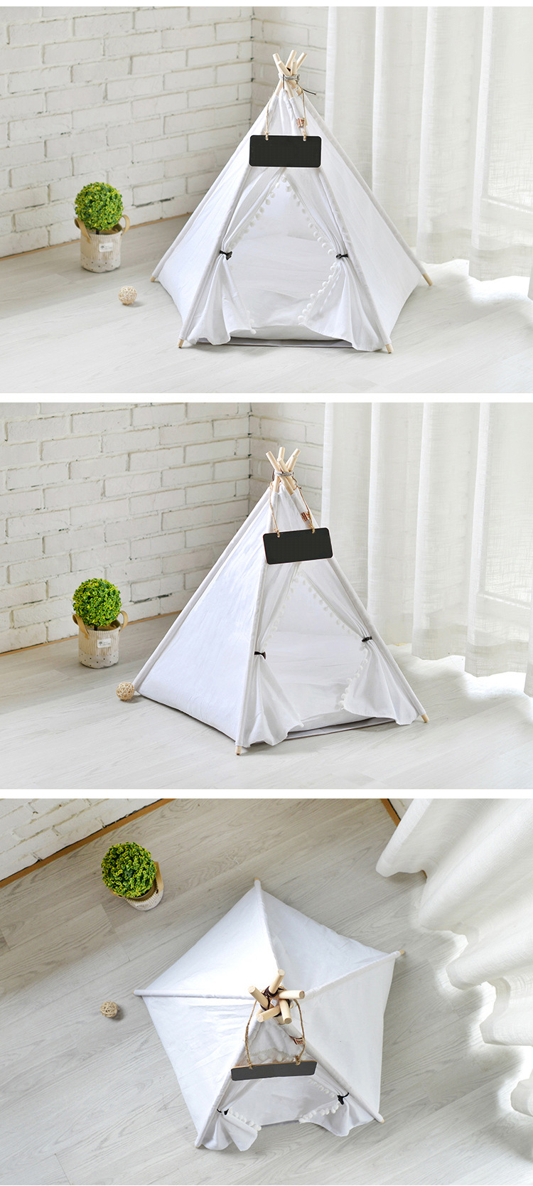 small dog teepee