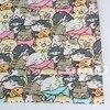 160cm*50cm Kitten Fish newborn cotton fabric DIY bedding apparel dress patchwork fabric kids handwork cotton cloth tecido