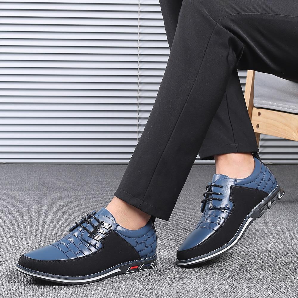 H5d0194f440db4e578b574e10f8043d360 2019 New Big Size 38-48 Oxfords Leather Men Shoes Fashion Casual Slip On Formal Business Wedding Dress Shoes Men Drop Shipping