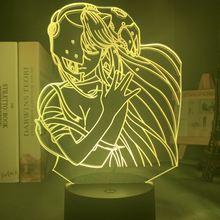 Акриловый светодиодный ночсветильник аниме elfen lied Люси nyu