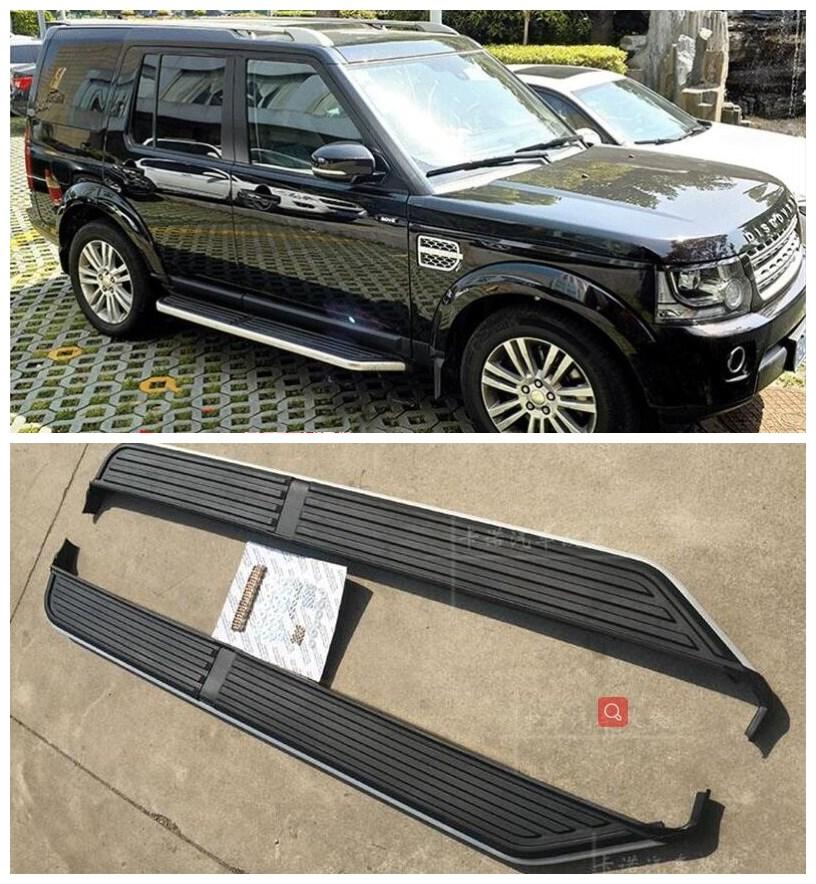 Высококачественные подножки из алюминиевого сплава, боковые ступенчатые педали, подходят для Land Rover Discovery 3 LR3 2003-2009