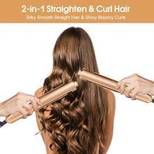 Hair Curler Hair Straightener 2 in 1 Pro