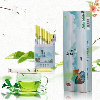 цена на Green tea Herbal cigarette Draws great Free shipping clearing lung No Nicotine & Tobacco Quit smoking No tar