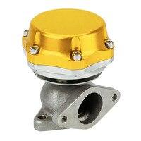 Modification Universal 38mm Car External Turbo Exhaust Manifold Wastegate & Dump Ring Billet