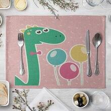 Коврик с изображением животных коврик мультяшного динозавра