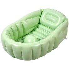 Bathroom-Products Bath-Bathtub Foldable Baby Kids DI50YP Salle-De-Bain Thick Solid-Color