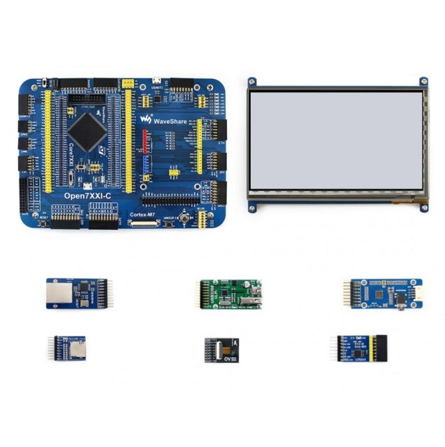 Waveshare Open746I-C Package A STM32F7 Development Board STM32F746IGT6 MCU ARM Cortex-M7 32-bit RISC Designed For STM32F746I