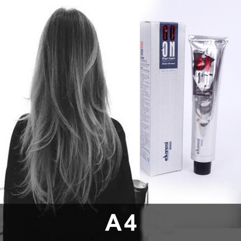 Recomendamos tinte permanente para el cabello Color cera para pintura Color gris cera pelo gris ahumado estilo Punk gris claro gris plata 1 gabinete para PC cajón organizador 30 compartimentos sujetador de lencería corbata cajas de almacenamiento de calcetines-gris