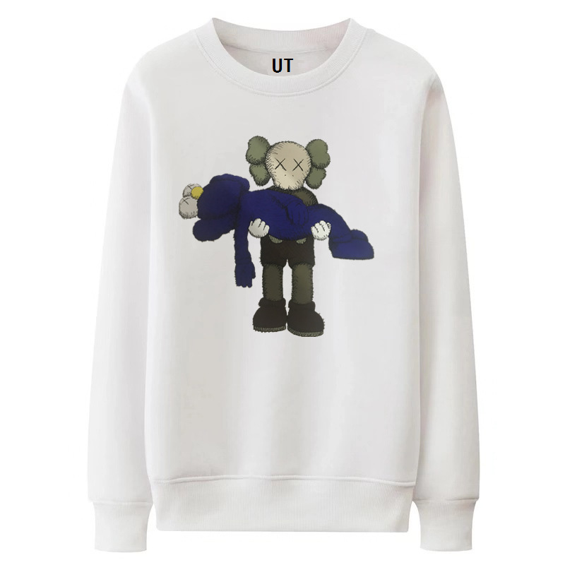 2019 Autumn New Style Sesame Street Cartoon Doll Printing Mesh Red Celebrity Style Third Bomb Joint Hoodie Men And Women Couples
