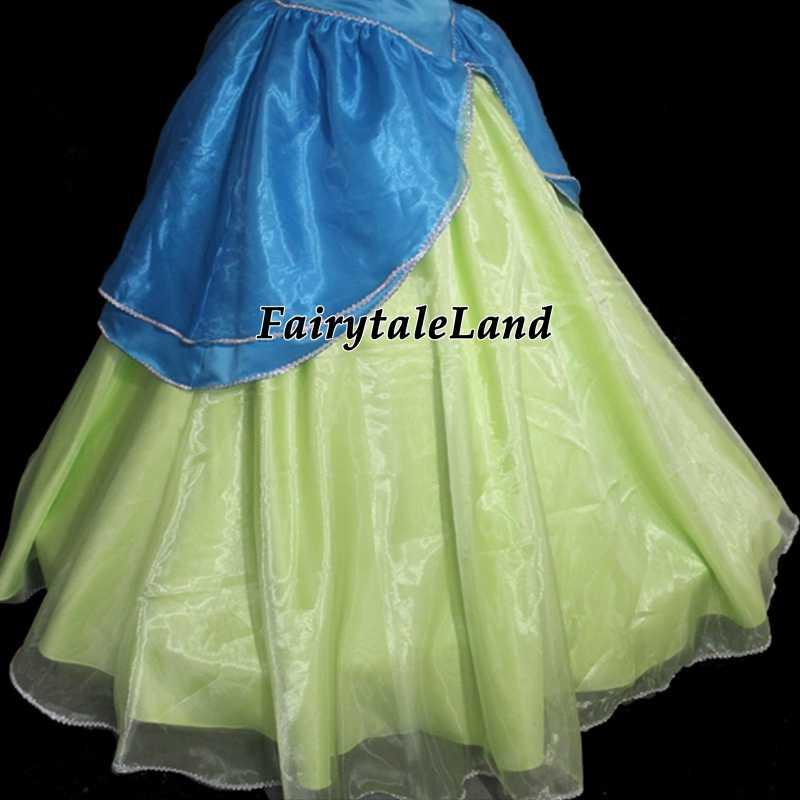 Cartoon Cinderella Sisters Anastasia and Drizella princess Dress adult Halloween
