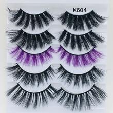 Makeup Lashes Magnetic Eyelashes Mink Extension 3d Hair Natural Individual