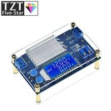 CC 0-32V 12A pantalla digital LCD de corriente constante voltaje ajustable Buck Step Down Placa de módulo de fuente de alimentación
