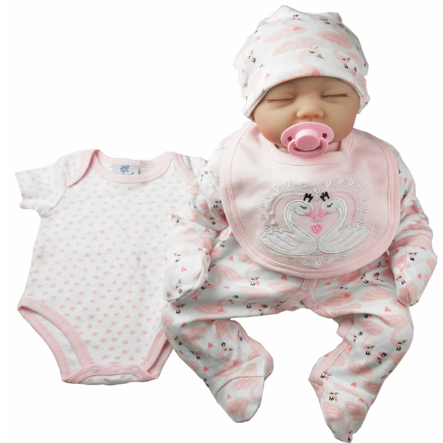 เด็กสาวชุด 5 ชิ้นเสื้อผ้าเด็กทารกใหม่ทารกผ้าฝ้าย 100% ทารก Romper ชุด