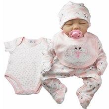 תינוקת סט 5pcs חדש נולד תינוק בגדי תינוקות 100% כותנה תינוק romper סט