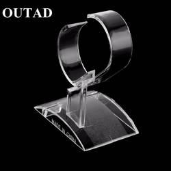 Прозрачная подставка для часов подставка витринная стойка инструмент Прозрачные Наручные часы легкая подставка чехол намотка горячий Aale