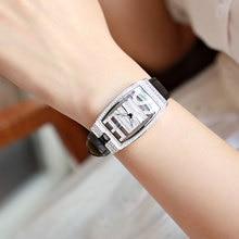 Davena 2020 New Fashion Quartz Watch Woman Full Diamond Watches Ladies Leather Bracelet Watch female Waterproof Clock Copper top цена 2017