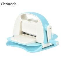 Chzimade Mini Die Cutting Embossing Machine Scrapbooking Cutter Piece Die Cut Paper Cutter Die-Cut Machine Diy Handmade Crafts