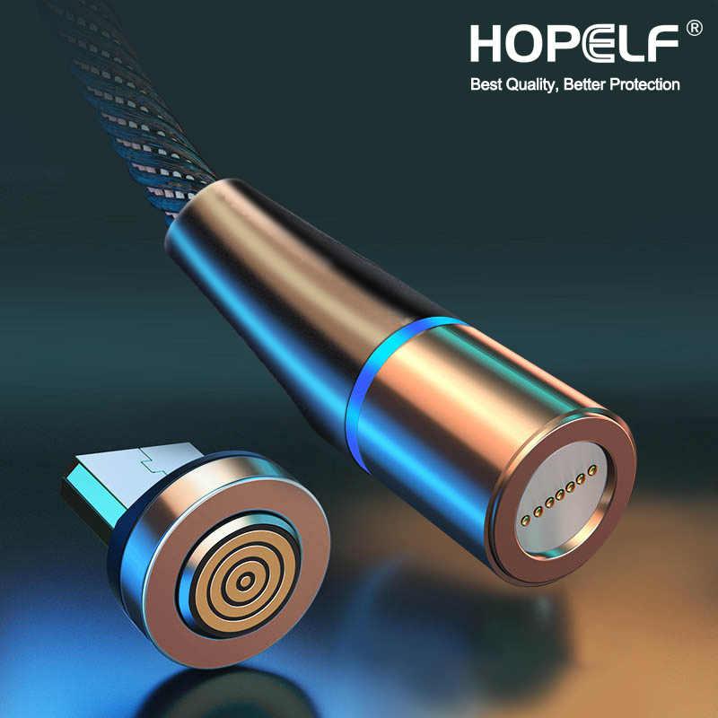 3A manyetik mikro USB kablosu Samsung için Xiaomi için Android hızlı şarj mıknatıs şarj USB tipi C kablo cep telefonu kordon tel