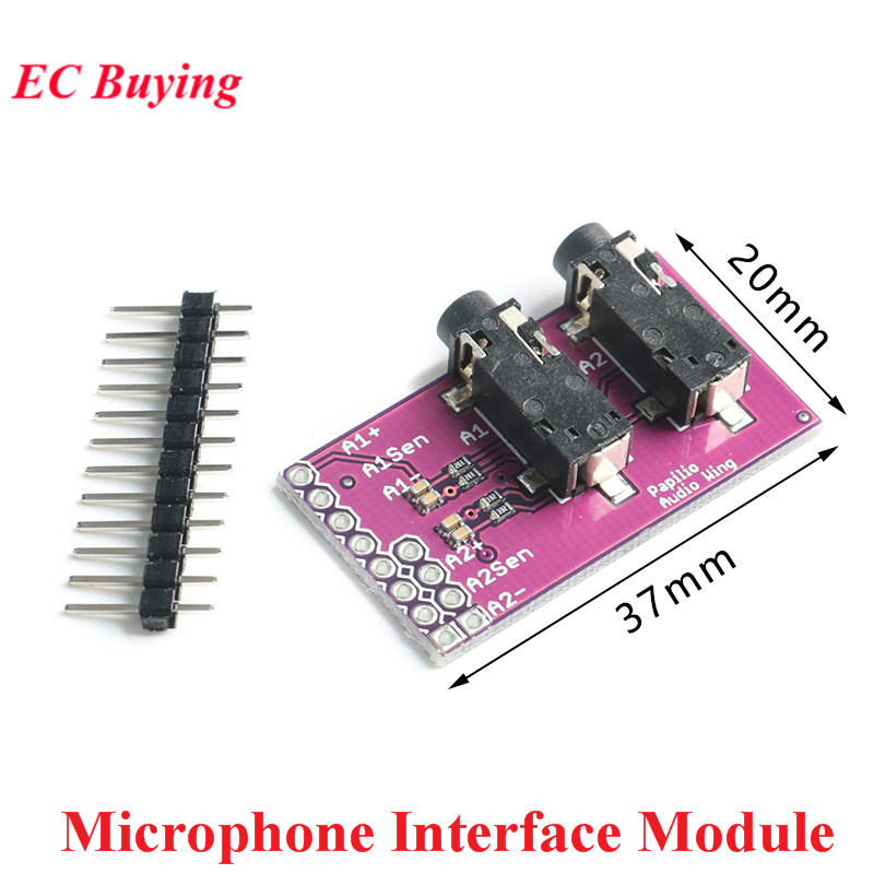 CJMCU 3.5mm Audio Socket MP3 Stereo 2-Channel Audio Headset Video Microphone Interface Board Module image