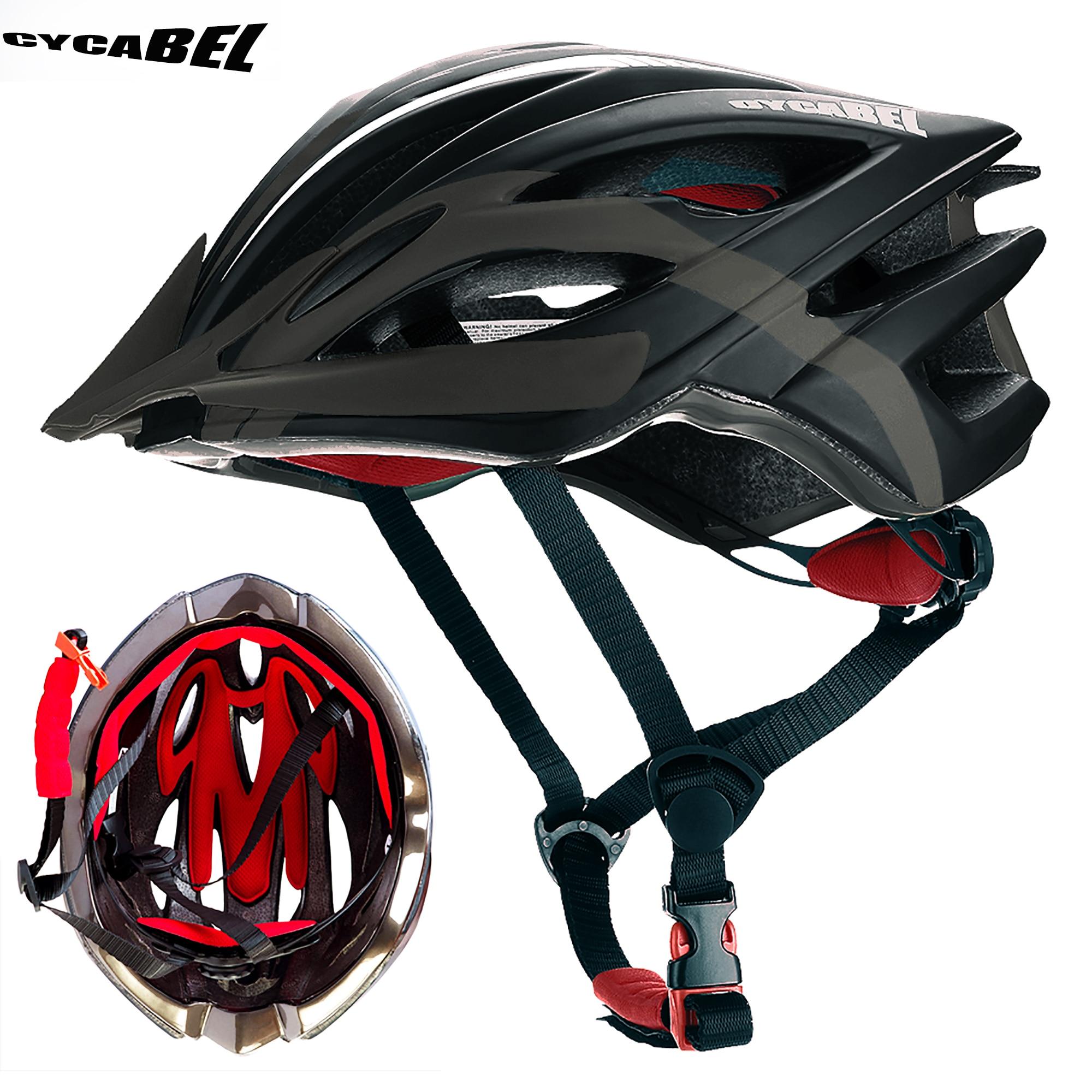 Велосипедный шлем CYCABEL, ультралегкий титановый шлем в форме буквы «под давлением», для горных велосипедов, безопасный для мужчин и женщин