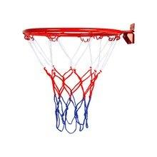 Подвесная баскетбольная настенная сетка с ободком для гол, спортивная сетка для помещений и улицы, спортивная баскетбольная настенная подв...