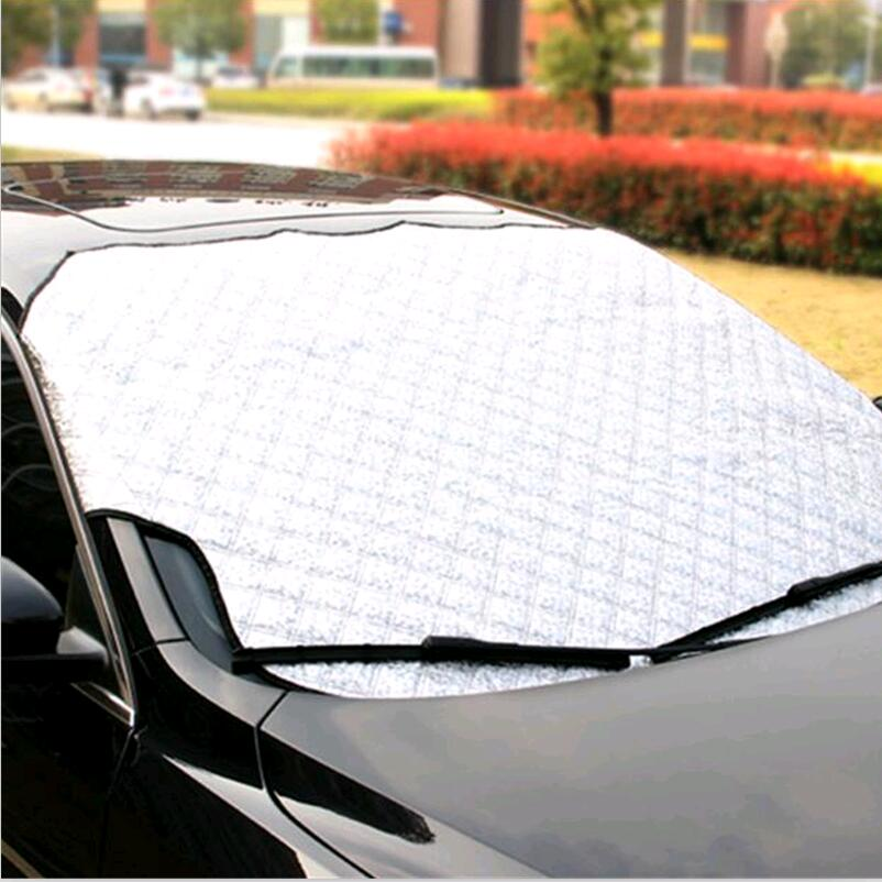 new hot Car Windshield Sunshade Cover Universal Car Cover FOR kia sportage 2019 ford fusion <font><b>toyota</b></font> <font><b>corolla</b></font> <font><b>e150</b></font> octavia a7 image