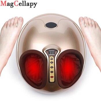 Masajeador de pies eléctrico calefacción infrarroja lejana amasar compresión de aire reflexología...
