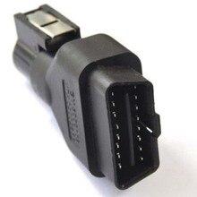 Tech2 adaptateur de connecteur OBDII 16 broches, outil de Diagnostic automobile, prise OBD2 16 broches pour Vetronix Tech 2 Scanner