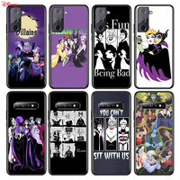Funda de silicona de villanos oscuros de Disney, para Samsung Galaxy S21 S20 FE Ultra S10 S10E Lite S9 S8 S7 Edge Plus