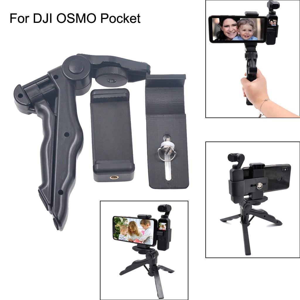 Gimbal Tripod Phone Holder Mount Bracket Extended For DJI OSMO Pocket Accessory