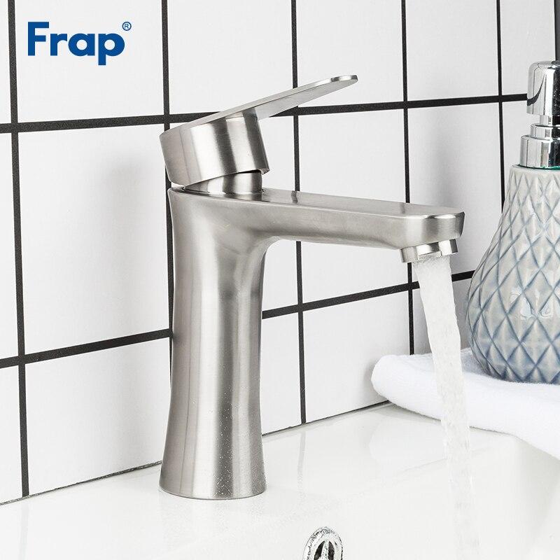 Frap Новый матовый смеситель для ванной комнаты смеситель для раковины кран для горячей и холодной воды кран для ванной комнаты Torneira para banheiro ...