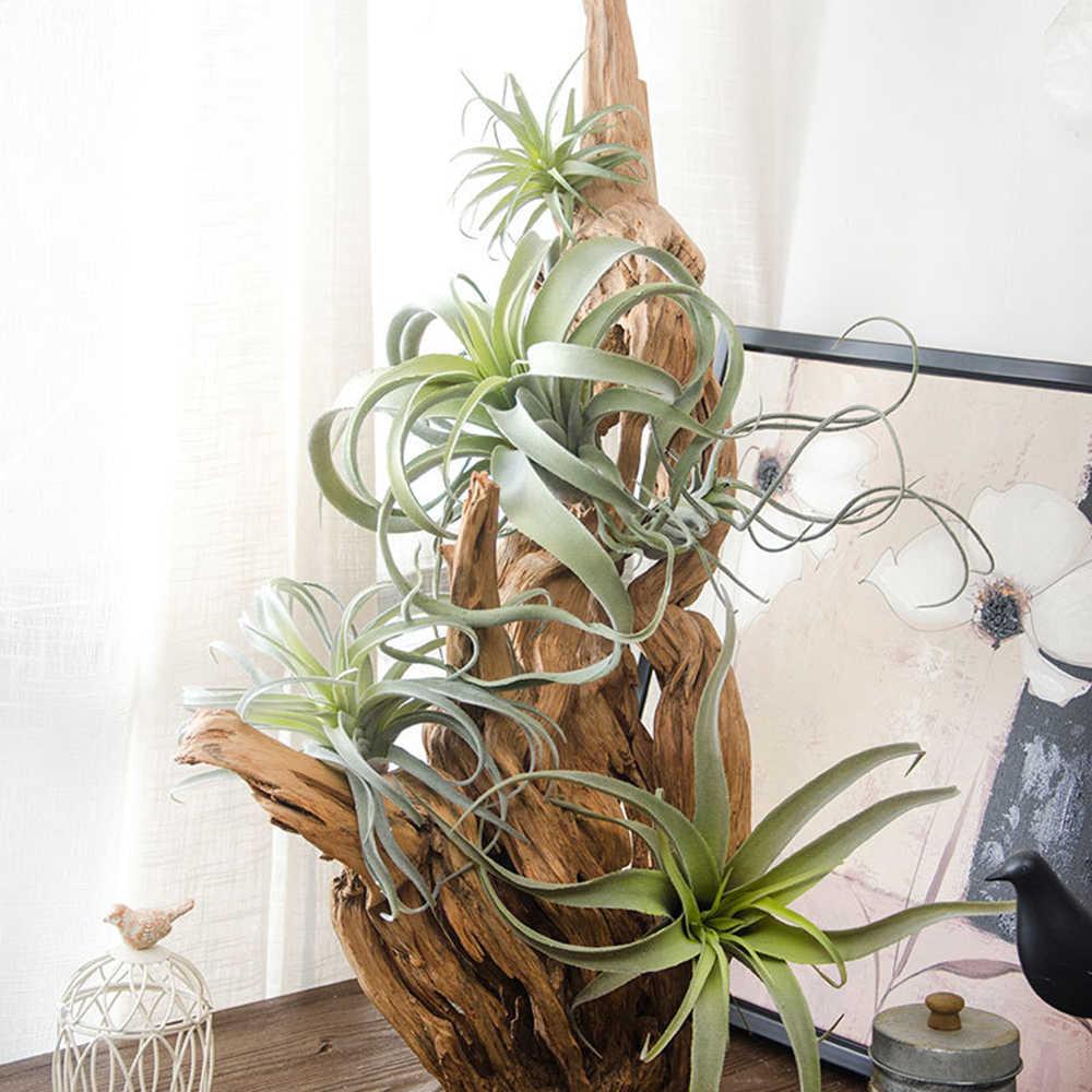 Украшения для дома, флокирование, ананас, Воздушная трава, ручная работа пластиковая свадьба, моделирование, поддельный цветок, растительное окно