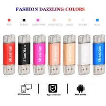 Hotsale Shandian Otg Usb Flash Drive Type C Pen Drive 512Gb 256Gb 128Gb 64Gb 32Gb 16Gb Usb Stick 3.0 Pendrive Voor Type C Apparaat