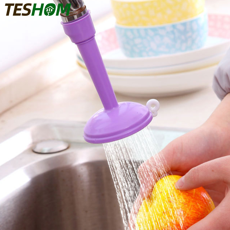 360 Degree Rotating Kitchen Sprayers Adjustable Tap Nozzle Dual Water Spouts Water Saving Shower Head Kitchen Faucet Accessories