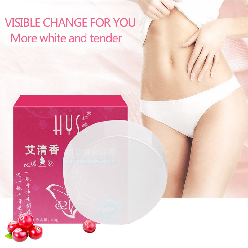 Soap Crystal Intimate Private Bleaching Lips Skin Body Pink Whitening Amazing