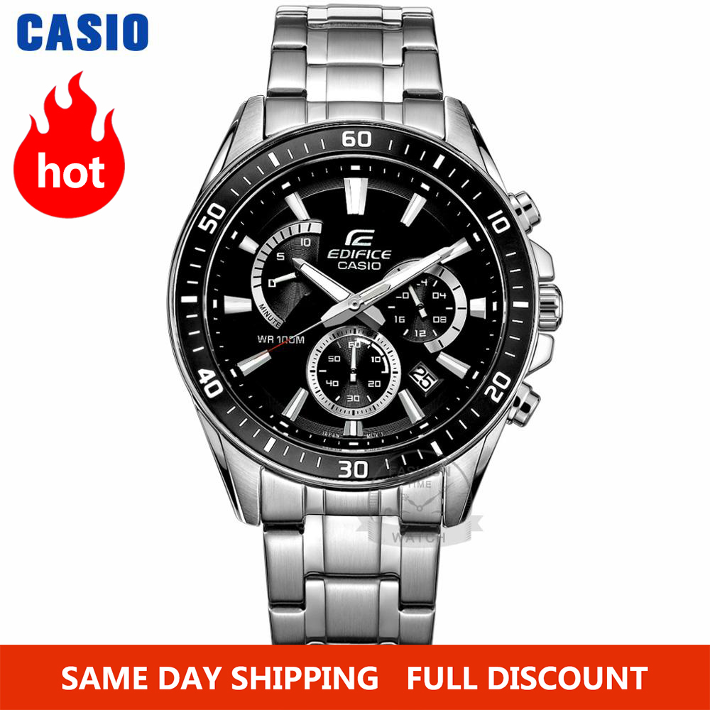 Casio watch Edifice watch men top luxury set quartz <font><b>100m</b></font> Waterproof Chronograph men watch Sport military Watch relogio masculino image