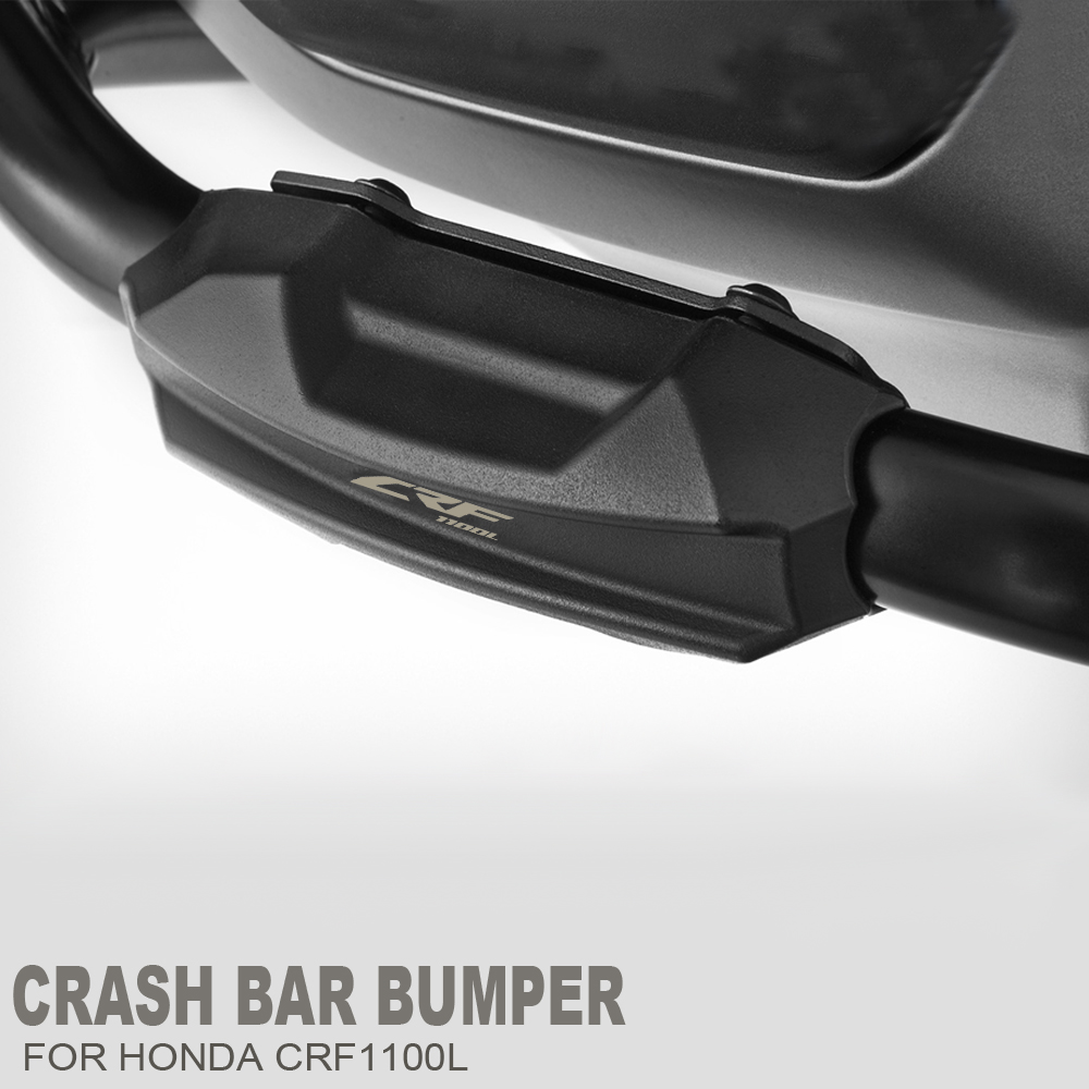 Color : Blue GUIFUG Motorcycle Engine Crash Bar Protection Block Guard Bumper Decorative Block//Fit For Africa Twin CRF1100//L CRF 1000//L XRV 750