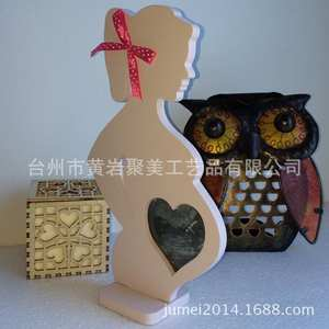 Photo-Picture-Frame Footprint-Makers Hand Wooden Photography Baby Pregnant-Women Mom
