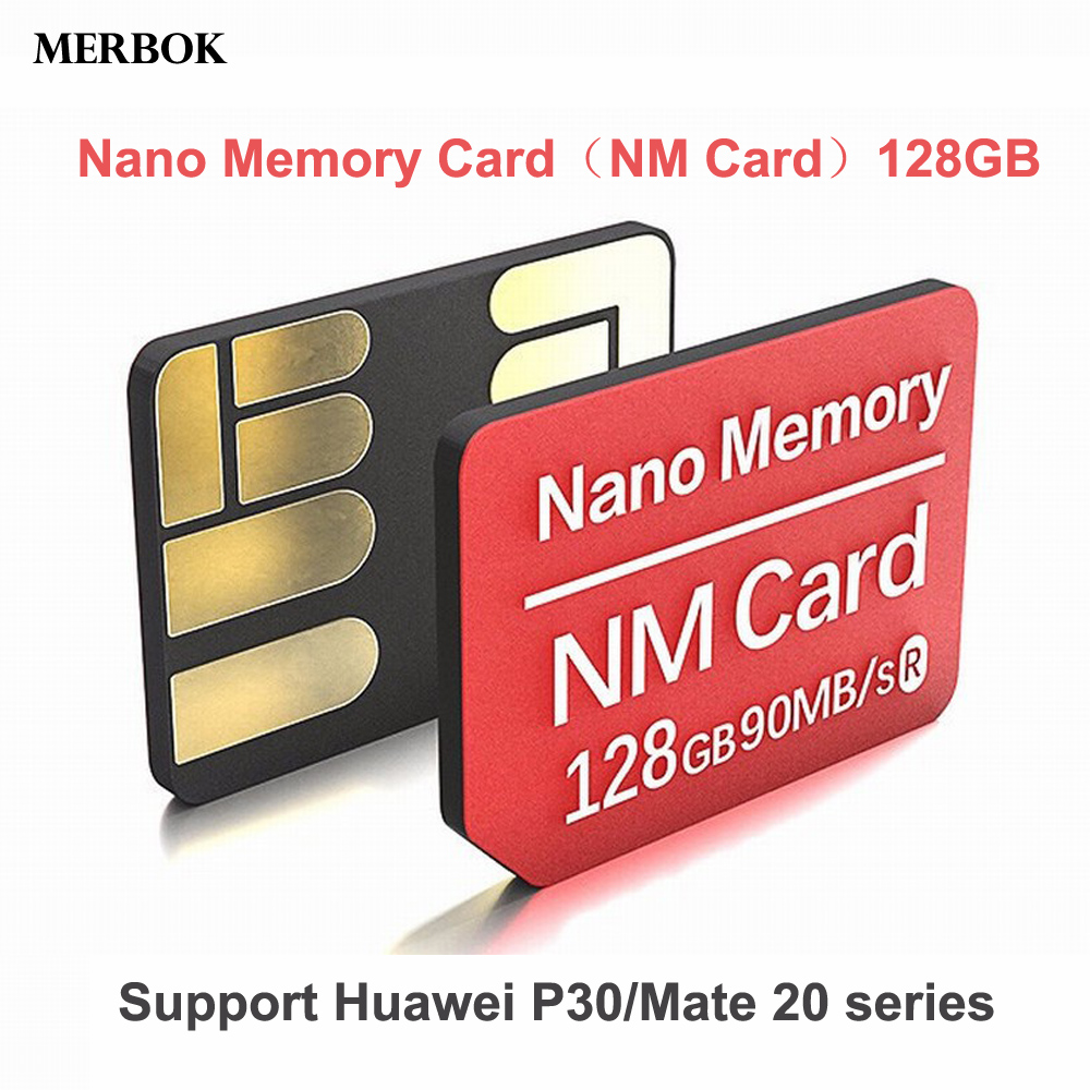 20 90MB/S NM Card Nano Memory Card 128GB NM-Card For Huawei Mate 20 Mate20 Pro Dual-use Type-C USB3.0 High Speed TF/NM Card Reader (1)