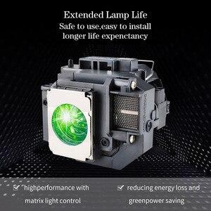 Image 5 - HAPPTBATE החלפת מקרן מנורת ELPLP67/ V13H010L67 עבור H429A VS210 VS220 PowerLite קולנוע ביתי 710 750HD MG 850HD