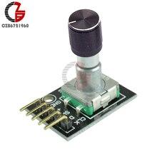 KY-040 Potentiometer Schalter 360 Grad Rotary Encoder Sensor Swith mit Entwicklung Board Aluminium Legierung Kappe Pins für Arduino