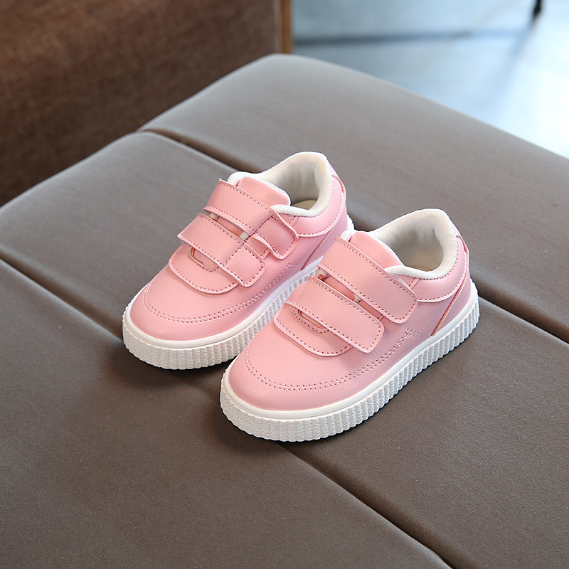Children Flat Shoes Toddler Kids Boys Girls Sneakers Fashion Sport Shoes Casual Running Leather Shoes Soft Sole Shoes For 1-6Y