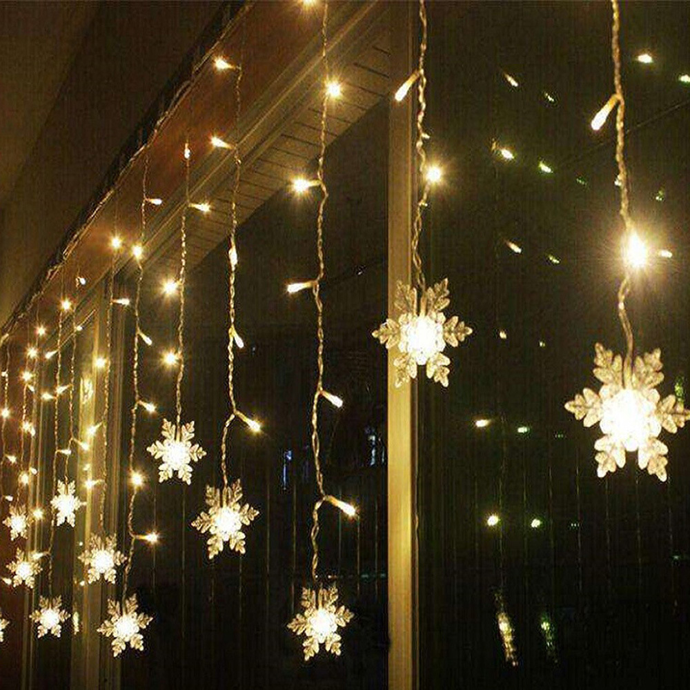 2021 Christmas Lights New Year Decorations 2021 Christmas Curtain Led Lights Merry Christmas Tree Ornaments Christmas Decorations For Home Xmas Gifts Pendant Drop Ornaments Aliexpress