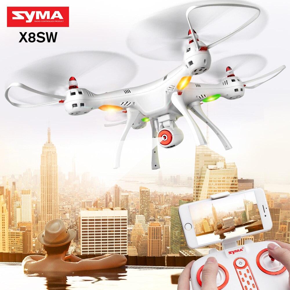 SYMA аутентичный Квадрокоптер X8SW HD камера FPV wifi Дрон в реальном времени поставляется с обновленной батареей 7,4 V X8SC (HD камера, без wifi)