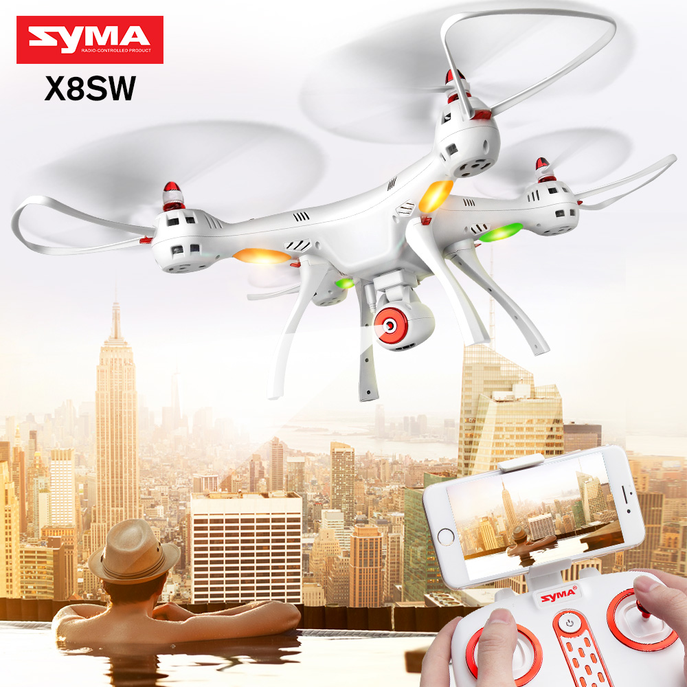 SYMA authentic X8SW quadcopter HD camera FPV wifi real time drone comes with upgrated 7.4V battery -X8SC (HD camera, no wifi) image